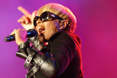 Mary J Blige from musicisentropy's photostream on flickr