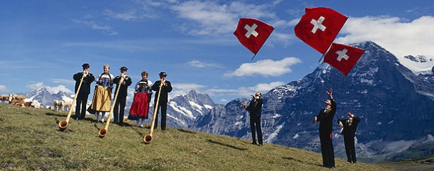 A completely and utterly cliched view of Swiss music