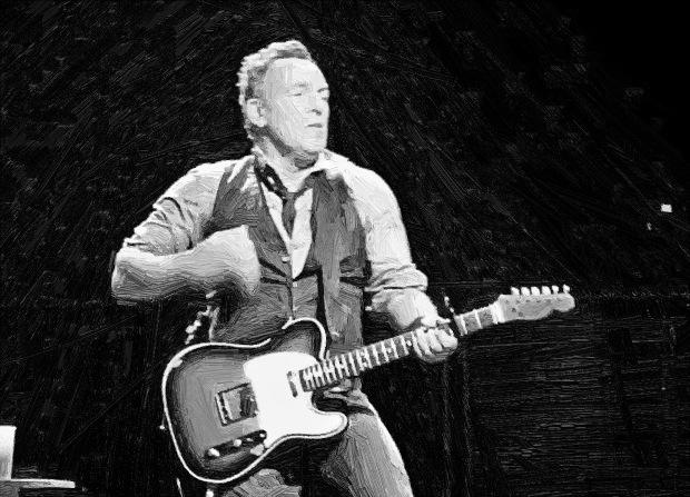 Bruce-Springsteen-oil
